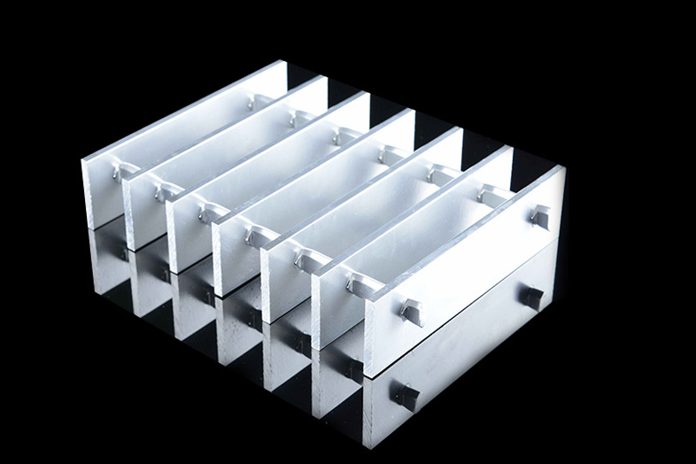 Swaged Aluminium Bar Grating